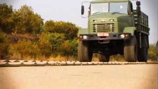 KrAZ military truck trial in africa (Испытания КрАЗа в Африке)(Светодиодные фары - vk.com/viniloff_nakleyki - ИНТЕРНЕТ МАГАЗИН KrAZ military truck trial in africa (Испытания КрАЗа в Африке) [OFF-ROAD][4x4]..., 2014-10-03T11:32:04.000Z)