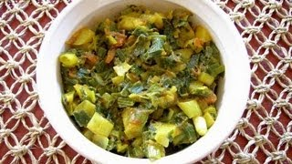 Hare Pyaaz Ki Sabzi Onion Greens Vegetable