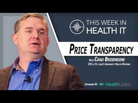 Price Transparency for Consumers with Chad Brisendine