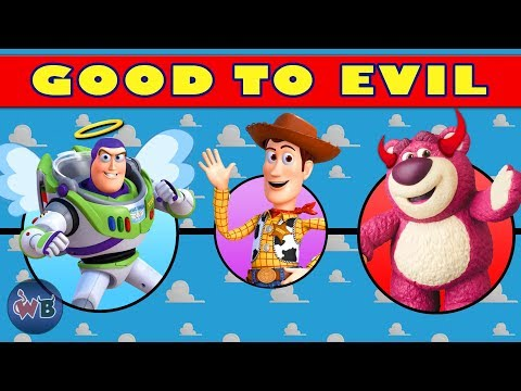 Toy Story Characters: Good To Evil