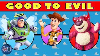 Best Toy Story Series Characters