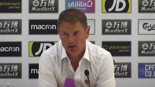 De Boer laments Palace's 'lack of courage'