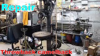 Camelback belt splice