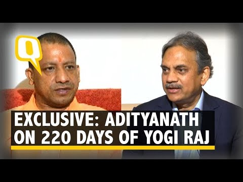 Exclusive: Adityanath talks to The Quint on 220 Days of Yogi Raj   The Quint