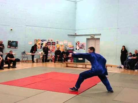 DMAS 2012 Comp Stuart Ford Hebei Xingyi 5 Fists Linking Set & Cheng Bagua 8 Big Palms Linking Set