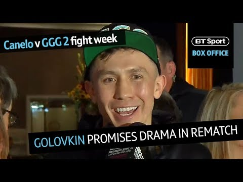 Canelo v GGG 2 arrivals: Gennady Golovkin promises drama in first public interview of fight week