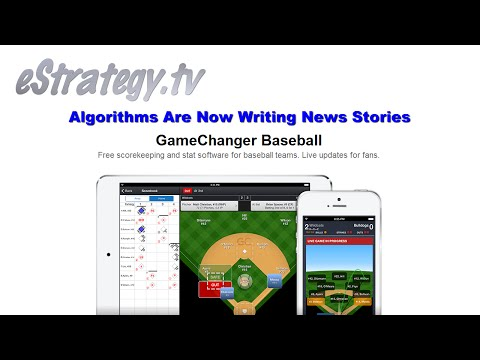 Algorithms Are Now Writing News Stories