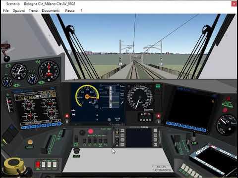 Simulatore Treno Di Paolo Sbaccheri: Linea Bologna - Milano AV/AC (Tratto Reggio Emilia - Milano)