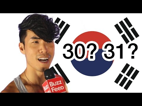 Can You Guess Your Korean Age?