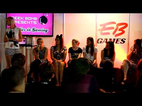 Geek Bomb Presents: Ladies in Gaming Panel at EB Expo