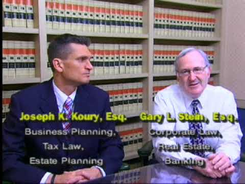 Joseph K. Koury, Esq., LL.M. and Gary L. Stein, Esq. of OWM Law's Business Planning Practice Group
