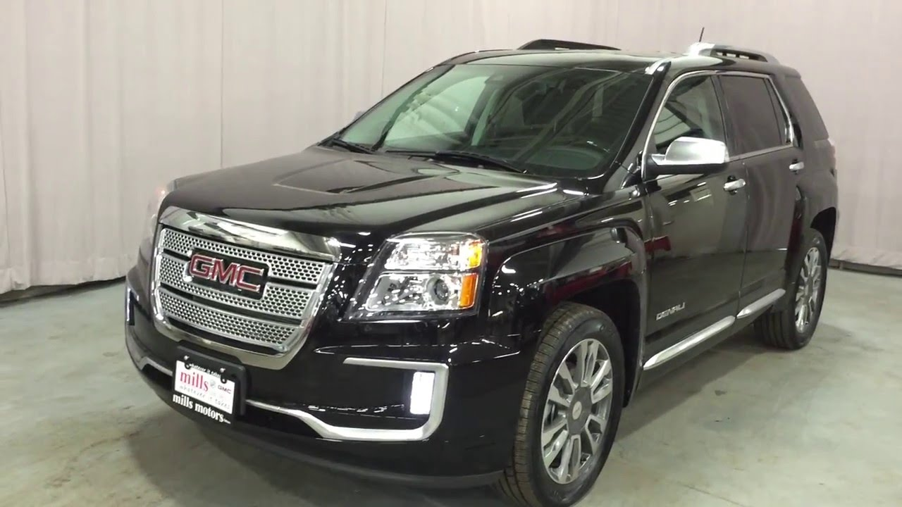 2016 Gmc Terrain Denali Awd Twilight Metallic Ebony Oshawa