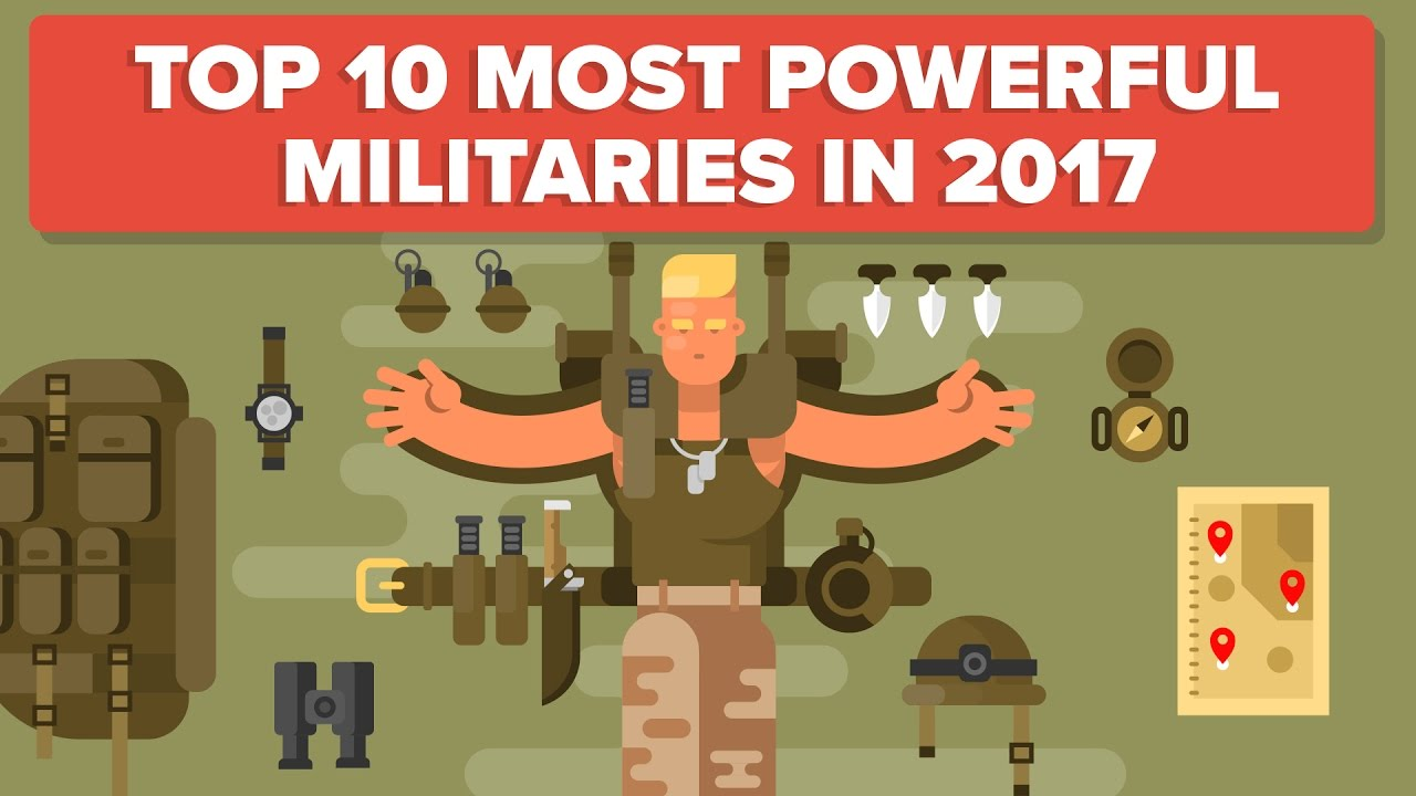 Top Most Powerful Militaries In Military Army - Most powerful country in the world in army list