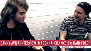Danny Avila Interview | Madonna, CDJ NXS 2 & Hair Color | IAATM TV