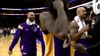 jordan clarkson game winner last second ot los angeles lakers at philadelphia 76ers