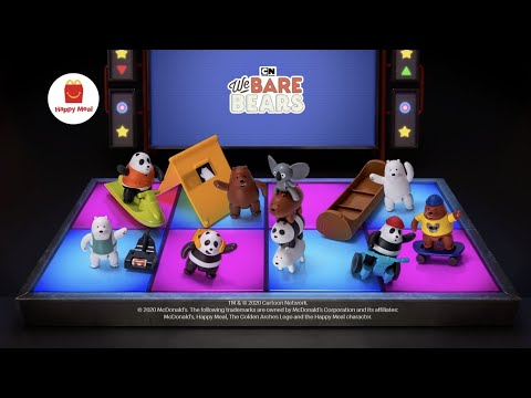 2020 Happy Meal – We Bare Bears