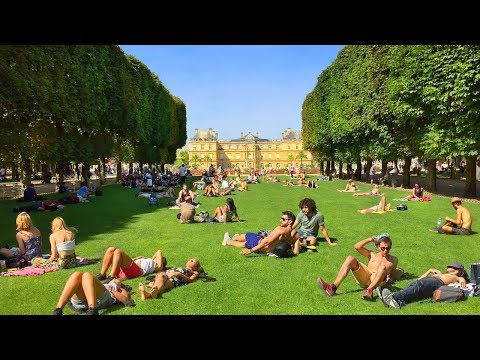 PARIS WALK | Luxembourg Gardens - Magnificent Paris Park | France