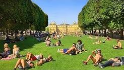 PARIS WALK | Luxembourg Gardens - Magnificent Paris Park | France