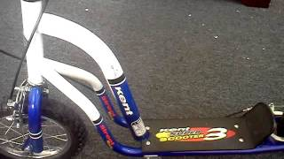 Repeat youtube video Kent 12 Inch Super Scooter Blue and White Review