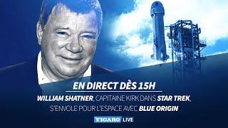 🚀Le capitaine Kirk de «Star Trek» s'envole pour l'espace avec Blue Origin