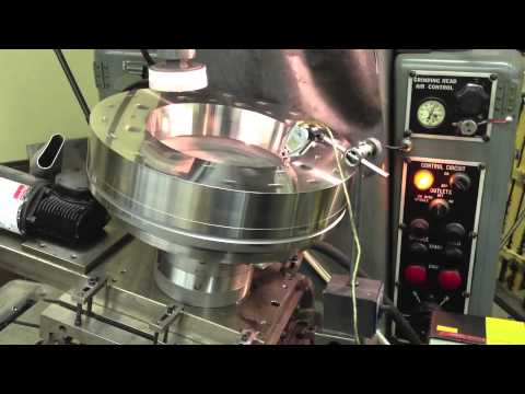 Grinding BIPM Watt Balance Segments on a Hydrostatic Spindle