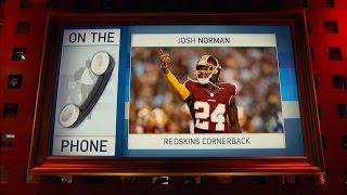Washington Redskins CB Josh Norman Talks Teams Win Streak, Injury Update & More - 10/10/16