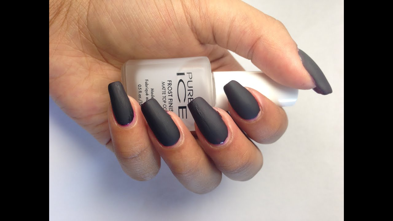 PERFECT MATTE NAILS FOR ONLY 2