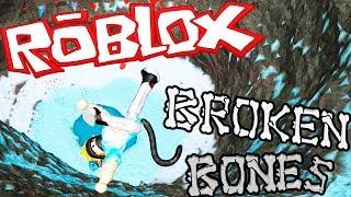 MI PEOR CAIDA FUE... | BROKEN BONES | ROBLOX