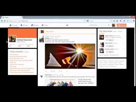 Twitterda Bir Kişiye Mesaj Atmak - Twitter Eğitimleri HD