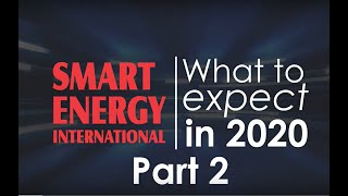 Energy Industry 2020 Predictions - Part 2