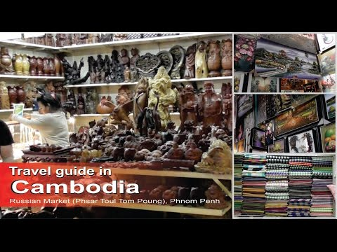 Russian Market (Phsar Toul Tom Poung) - go shopping in Phnom Penh - Travel guide in Cambodia