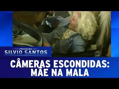Câmeras Escondidas (24/07/16) - Mãe na Mala