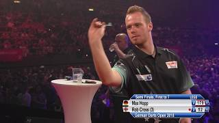 German Darts Open 2018 - Semi Final - Max Hopp v Rob Cross