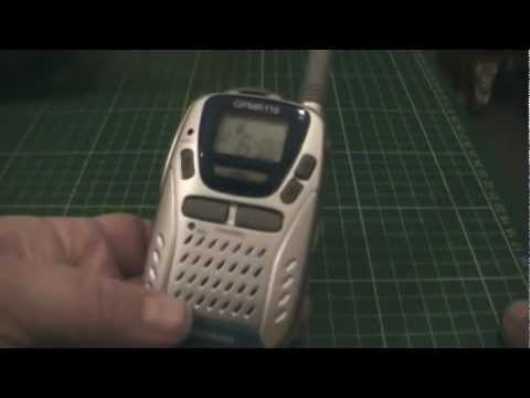 PMR446 - A look at the Goodmans GPMR116 Radio