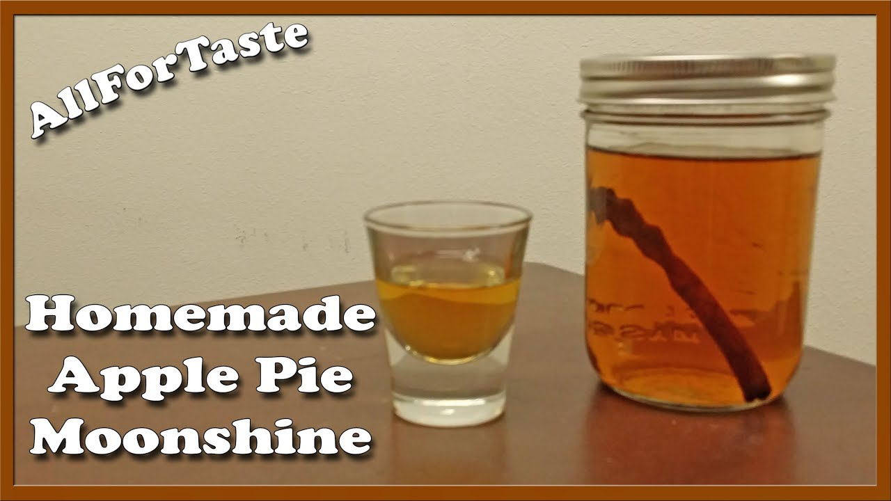 Allfortaste on Location in Alaska - Homemade Apple Pie Moonshine - YouTube