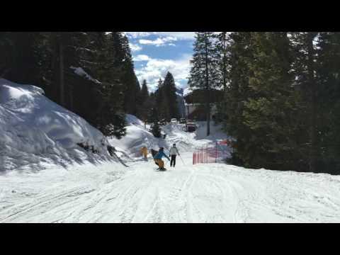 Skiing in Madonna di Campiglio March 2017