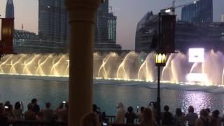 Dubai Fountain October 2016