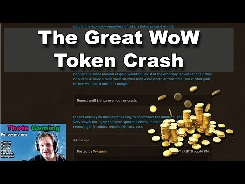 The Great WoW Token Crash of '18