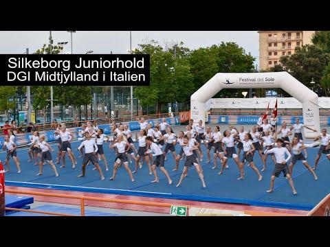 Silkeborg Juniorhold, DGI Midtjylland to Festival del Sole, Italy, Street Gymnastics