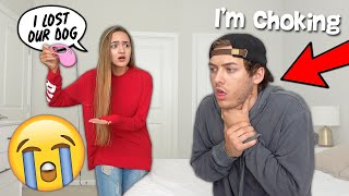 WE PRANKED EACH OTHER AT THE SAME TIME! *EPIC FAIL*