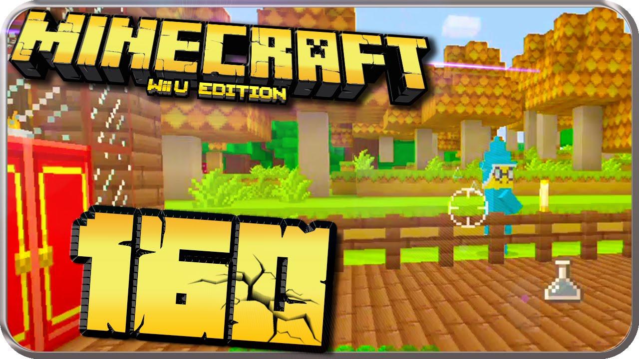Let S Play Minecraft Wii U Edition Part 160 Meine Hausterasse