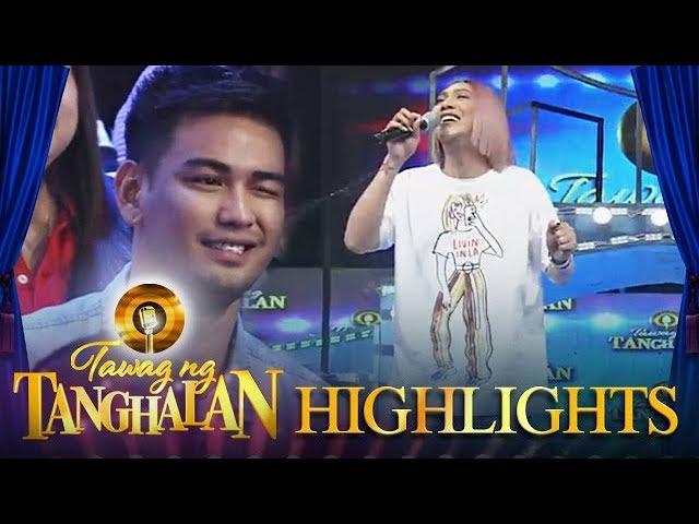 Tawag ng Tanghalan: Vice receives a wink