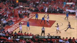 Lou Williams strips Westbrook, finds Beverley for three