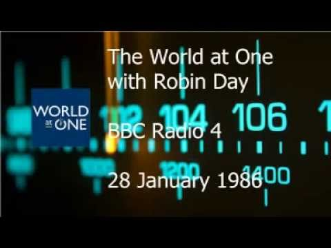 The World at One 28 January 1986