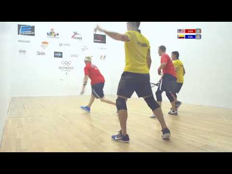 2018 Racquetball World Championships - Men\'s Quarterfinals - USA vs COL