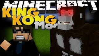 Minecraft Mod - King Kong Mod - New Boss and Items