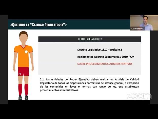 CALIDAD REGULATORIA EN EL DECRETO LEGISLATIVO 1310