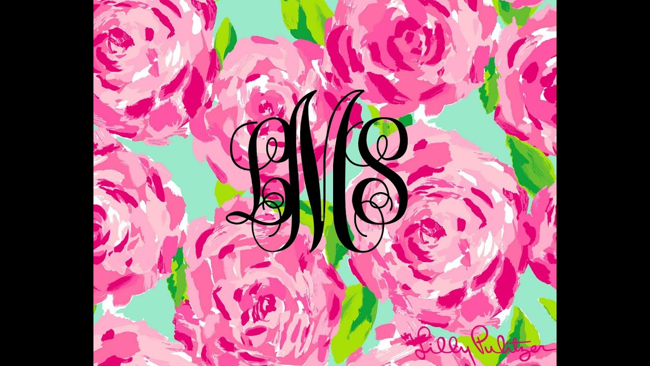 Make your own Monogram For Free! - YouTube