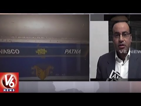 Vasco Da Gama-Patna Express Derails Near Manikpur   Uttar Pradesh   V6 News