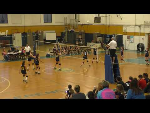 Spencer Middle School Volleyball vs  Summersville Middle School 9-18-17